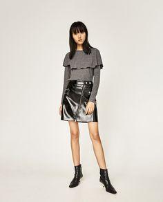 Εικόνα 1 του ΜΠΛΟΥΖΑ ΜΕ ΚΑΠΑ από Zara Trending Now f720e5291c5