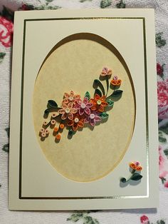 Flower Valley, paper quilling craft - her work is exquisite! Quilling Work, Quilling Craft, Quilling Ideas, Quilling Flowers Tutorial, Quilling Instructions, Amazing Flowers, Nice Flower, Diy Paper, Paper Crafts