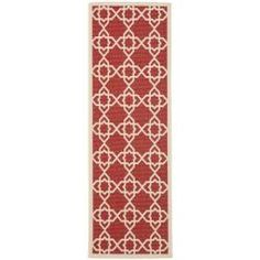 @Overstock - Spruce up the look of your home or outside space with this modern indoor/outdoor rug. Featuring a sturdy polypropylene construction, it promises comfort and durability. This versatile rug will look great in your living room or out on your patio.http://www.overstock.com/Home-Garden/Poolside-Red-Beige-Indoor-Outdoor-Rug-24-x-67/6599816/product.html?CID=214117 $36.99