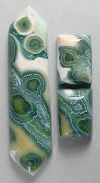 OCEAN JASPER designer cab Silverhawk's designer gemstones.