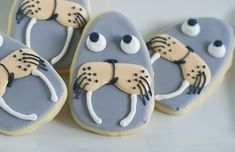 Bake at 350: I am the Walrus using egg cookie cutter
