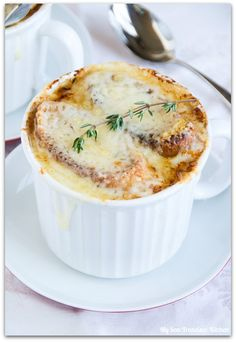 Impossibly to ruin French Onion Soup -- super good! (takes a bit, but reaaaally easy)