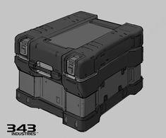 ArtStation - Halo 5 Props, Justin Oaksford