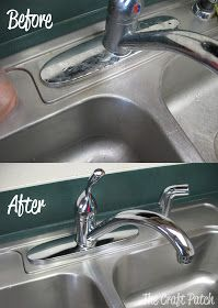 Pinterest Tested: Stainless Steel Sink Cleaner