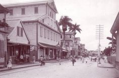 Paramaribo back in the days