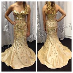 Show Stopper gently used Homecoming Gown  available at Style U Boutque