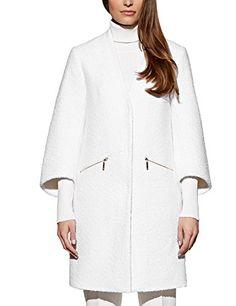 Femme Femmes à Manches Longues Longue Ligne À Col Duster Manteau Femme Taille UK 8-14