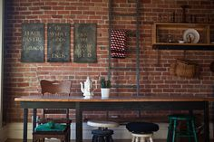Honor and Folly // Detroit // Design-orientated Honor & Folly immerses guests in Midwest culture in the oldest neighbourhood in Detroit, where visitors are encouraged to mix with locals at weekly cooking classes. The small-scale cheap-chic inn is a veritable exposition of Michigan contemporary art and design; from wallpaper to dinnerware to artwork, each furnishing represents the unique story of a Detroit-based producer.