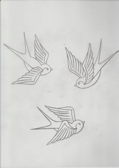 Three swallows all in one design