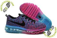 pretty nice d957d 3f2f4 Womens Nike Flyknit Air Max rainbow Nike Free Shoes, Bling Nike Shoes, Nike  Running