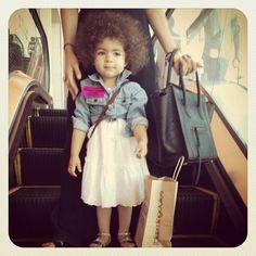 my future baby. must have afro.  let's not deny it people, biracial kids are THE cutest!!!