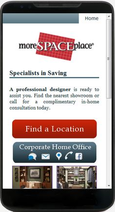 Just some Franchise work we did. Over 40 Locations! Check them out on your mobile phone. http://morespaceplace.com