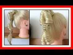 MINI FISH TAIL BUBBLE BRAIDS HAIRSTYLE / HairGlamour Styles / Hairstyles / Hair Tutorial - YouTube