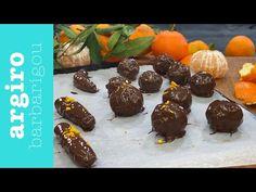 Σοκολατάκια με καρύδι και μανταρίνι live και μυστικά • Argiro Barbarigou - YouTube Greek Sweets, Muffin, Sweet Home, Pudding, Candy, Breakfast, Desserts, Recipes, Chocolates