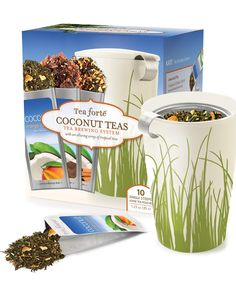Spotted this Tea Forte Kati Coconut Gift Set on Rue La La. Shop (quickly!).