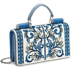Brighton's handcrafted Bella Capri Mini Organizer is made-up of stitches and takes 6 hours to embroider. Brighton Handbags, Brighton Jewelry, I Love Fashion, Clutch Purse, Women's Accessories, Fendi, Purses And Bags, Cool Things To Buy, Folk