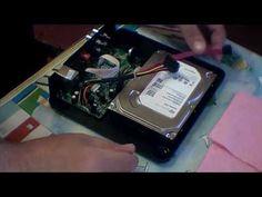 1 ТБ hdd жесткий диск и Xiaomi Power Часы Акриловые