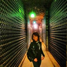 Sparkling Sunday - Schramsberg Vineyard Wine Cave can store up to 2.7 million bottles - how bubbly  #visitnapavalley #schramsberg #winecave #mywherever #sheisnotlost #winetour #lifewelltraveled #wearetravelgirls by msvegos