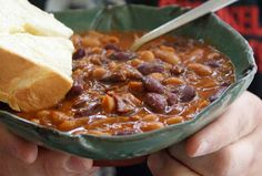 Slow Cooker Guinness Baked Beans from Dinner with Julie; you can use stock or apple juice if you don't want to use Guiness. [via Slow Cooker from Scratch] #SlowCooker #CrockPot #SlowCookerSummerDinner