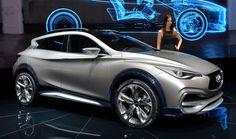 Infiniti QX30 #conceptcar al #salonediginevra #infiniti #crossover