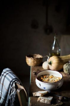 Zuppa autunnale - ph by Ilaria Guidi Rustic Food Photography, Best Food Photography, 7 Months Baby Food, Morrocan Food, Morrocan Decor, Slow Food, Food Design, Food Pictures, Food Styling