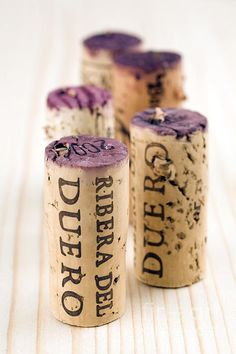 Red Wine Corks From Ribera Del Duero | Photo by Frank Tschakert with Pin-It-Button on #fineartamerica
