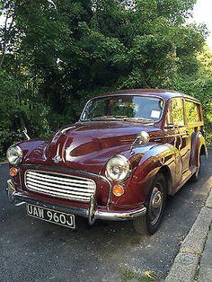 "eBay: Gorgeous Morris Minor Traveller 1000 ""Ruby"" 1971 http://rssdata.net/LGLJFX #classiccars #cars"