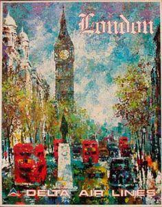 travel vintage london - Google Search