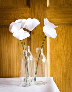 I wish I'd had paper flowers at my wedding.