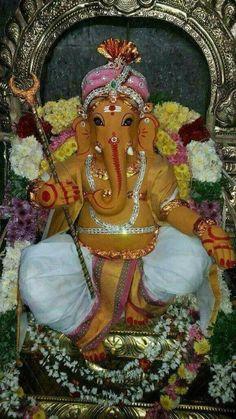 Ganesh Temple, Ganesh Lord, Sri Ganesh, Shri Ganesh Images, Ganesha Pictures, Krishna Images, Ganesh Chaturthi Decoration, Happy Ganesh Chaturthi, Indiana