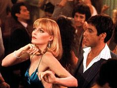 Scarface. I love Michelle Pfeifer's look in this movie.