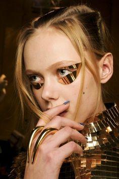 Styles punk, Eagle embrayage, anneau Eagle de l'embrayage, anneau, anneau en métal, bague, célébration du nouvel an, fait main