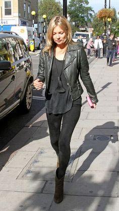 Kate Moss #streetstyle #fashion #modeloffduty