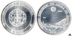 Moedas de Euro emitidas por Portugal: Centro Histórico de Angra do Heroísmo - Valor € 5....