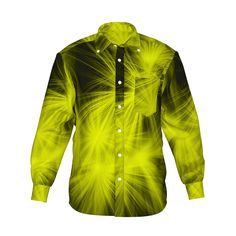 『Shine グラフィックシャツ イエロー』 - 7th Spirits