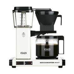 Moccamaster KBG 741 Select - Off-White - Ekspres przelewowy Filter Coffee Machine, Drip Coffee Maker, The Last Drop, Coffee Brewer, Barista, Carafe, Popcorn Maker, Off White, The Selection