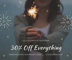 Come take a look at our Necklaces, Rings, Bracelets and Earrings! Everything is on sale for the 4th! We have minimalist items and fashion jewelry that looks like fine jewelry all with affordable prices!