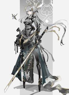 Female Character Concept, Fantasy Character Design, Character Design Inspiration, Character Art, Anime Girl Drawings, Anime Art Girl, Manga Art, Fantasy Fighter, Fantasy Female Warrior