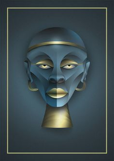 Symmetrical Illustrations by Rudik Valdés | Inspiration Grid | Design Inspiration