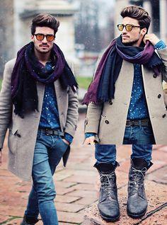 Mix it up. Milan Fashion week (by Mariano Di Vaio) http://lookbook.nu/look/4632655-Mix-it-up-Milan-Fashion-week