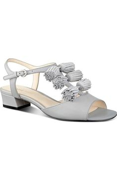 804f0b10b48 Nine West  Daelyn  Tassel T-Strap Sandal (Women) available at