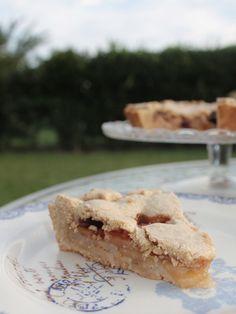 Crostata di farro con mele e pere alla cannella | Nastro di Raso