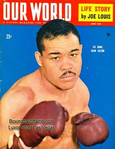I love Mike Tyson but, my favorite fighter of all time - Joe Louis  boxinghalloffame.com