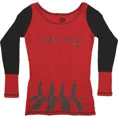 Beatles Embellished Abbey Girls Jr Fashion Top