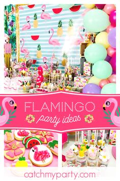 Don T Miss The Fantastic Flamingo Birthday Party Cookies Are Amazing