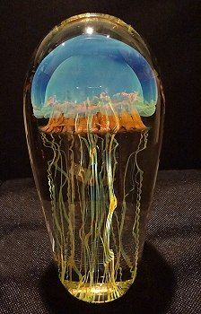 I have always wanted a jellyfish paper weight, but they're always so expensive!