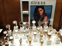 GUESS watches Η μόδα συναντά τη λειτουργικότητα του Lifestyle! Γυναικεία και ανδρικά ρολόγια για όλες τις ώρες   Τσαλδάρης στο Χαλάνδρι #watches #guess Table Settings, Watches, Clocks, Place Settings, Clock