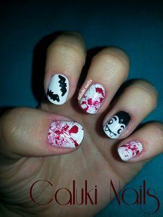 Vampiros de Halloween #ManisdeHalloween