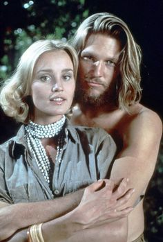 Jeff Bridges and Jessica Lange in one of my all time favorite movies - king kong