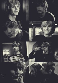 american horror story- cant believe I used to be afraid of tate , love him so much